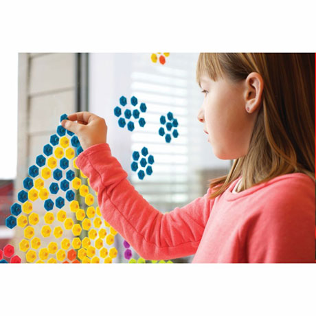Fat Brain Toys Pop' Emz Suction Cup Art Craft Toy Set