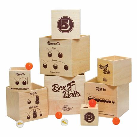 Fat Brain Toys Box & Balls Dexterity Bouncing Ball Game