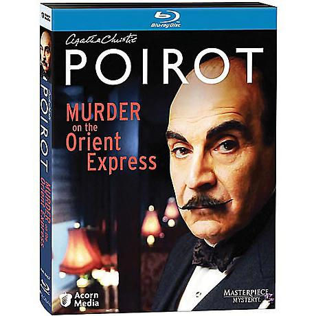 Agatha Christie's Poirot: Murder on the Orient Express Blu-ray