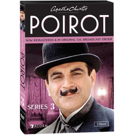 ecac22426fb56 Agatha Christie's Poirot: Series 3 DVD & Blu-ray | Signals | XA0322