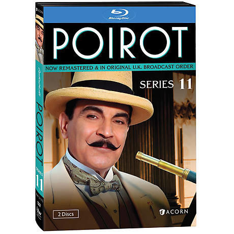 Agatha Christie's Poirot: Series 11 DVD & Blu-ray