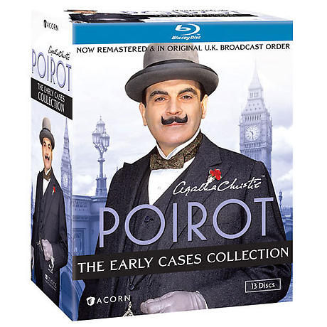 Agatha Christie's Poirot: The Early Cases Collection DVD & Blu-ray