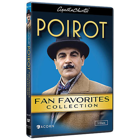 Agatha Christie's Poirot: Fan Favorites Collection DVD