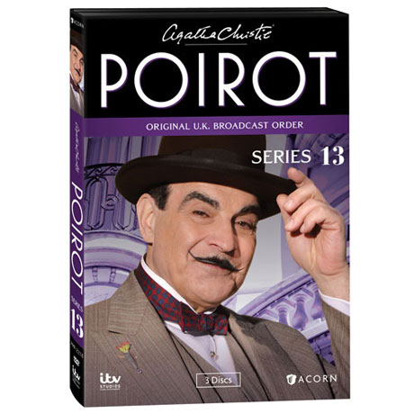 Agatha Christie's Poirot: Series 13 DVD & Blu-ray