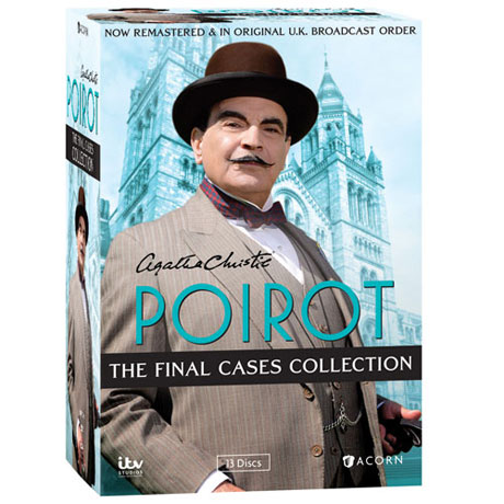 Agatha Christie's Poirot: The Final Cases Collection DVD & Blu-ray