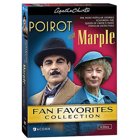 Agatha Christie's Poirot & Marple: Fan Favorites DVD