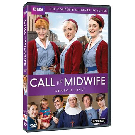 Call the Midwife; Season 5 DVD & Blu-ray