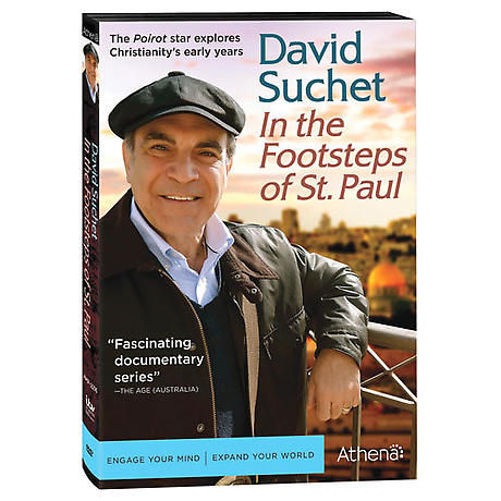 David Suchet: In The Footsteps of St. Paul DVD