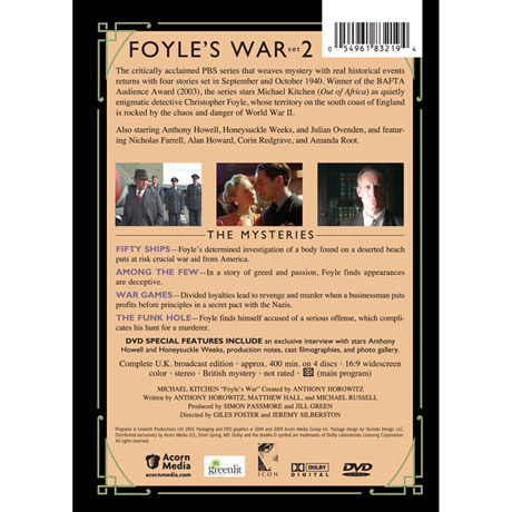 Foyle's War: Set 2 DVD