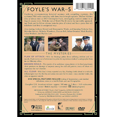 Foyle's War: Set 5 DVD