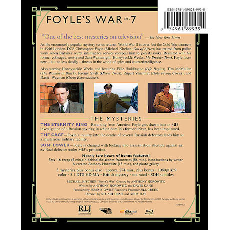 Foyle's War: Set 7 DVD & Blu-ray