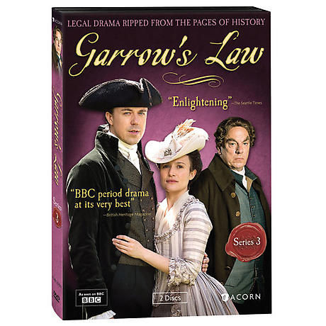 Garrow's Law: Series 3 DVD