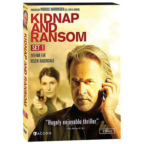 Kidnap & Ransom: Complete Series 1-2 DVD