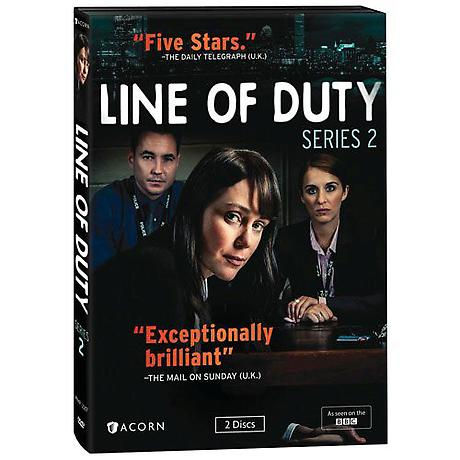 Line of Duty: Series 2 DVD