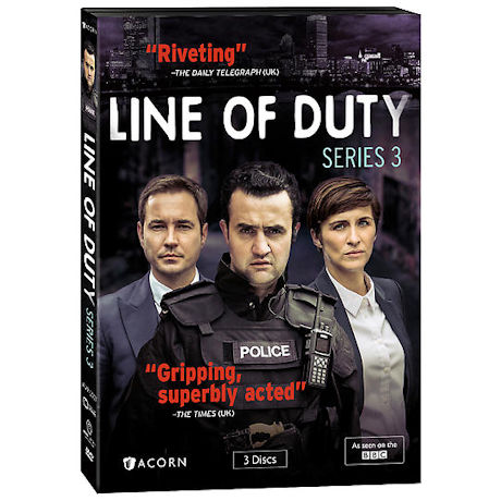 Line of Duty: Series 3 DVD