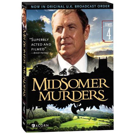 Midsomer Murders: Series 4 DVD