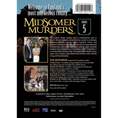 Midsomer Murders: Series 5 DVD