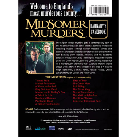 Midsomer Murders: Barnaby's Casebook DVD