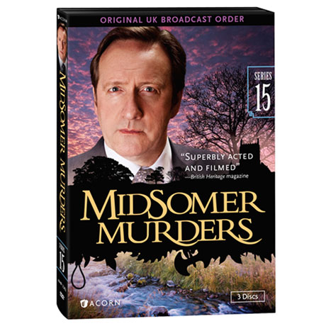 Midsomer Murders: Series 15 DVD