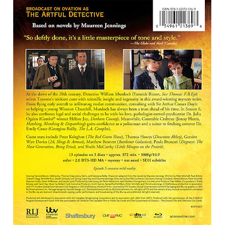 Murdoch Mysteries: Season 6 DVD & Blu-ray