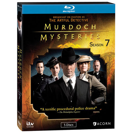 Murdoch Mysteries: Season 7 Blu-ray