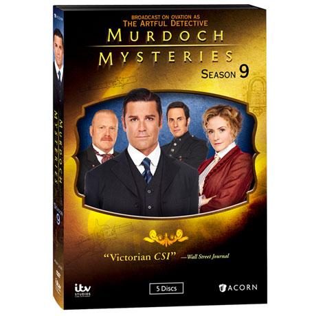 Murdoch Mysteries: Season 9 DVD & Blu-ray