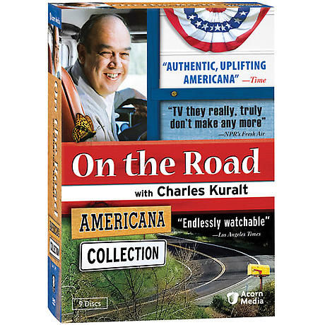 On the Road with Charles Kuralt: Americana Collection DVD