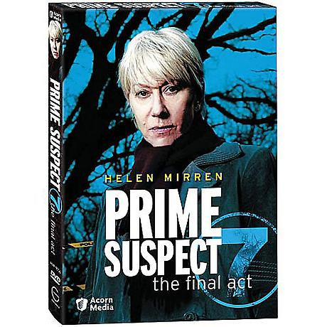 Prime Suspect: The Final Act, Series 7 DVD