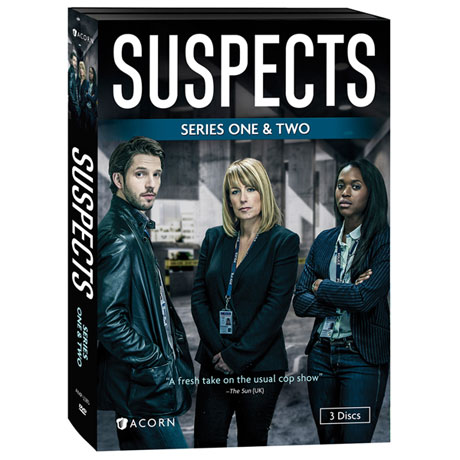 Suspects: Series 1 & 2