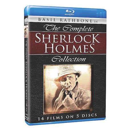 Basil Rathbone Sherlock Holmes: Complete DVD & Blu-ray