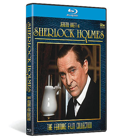 The Sherlock Holmes Feature Films Collection DVD & Blu-ray
