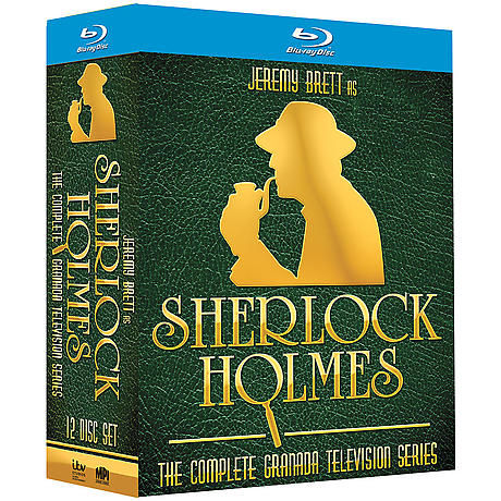 Ultimate Jeremy Brett as Sherlock Holmes Collection DVD & Blu-ray