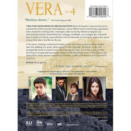Vera: Set 4 DVD