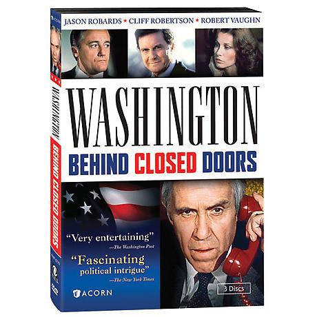 Washington Behind Closed Doors DVD