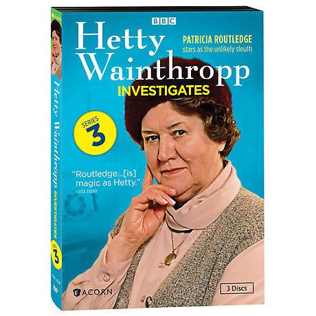 Hetty Wainthropp Investigates: Series 3 DVD