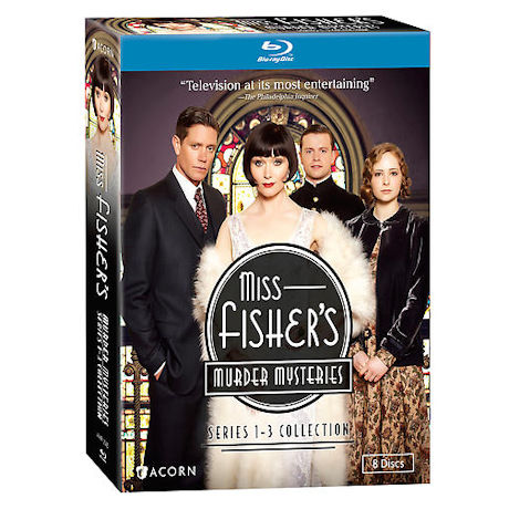 Miss Fisher's Murder Mysteries: Series 1-3 Collection DVD & Blu-ray