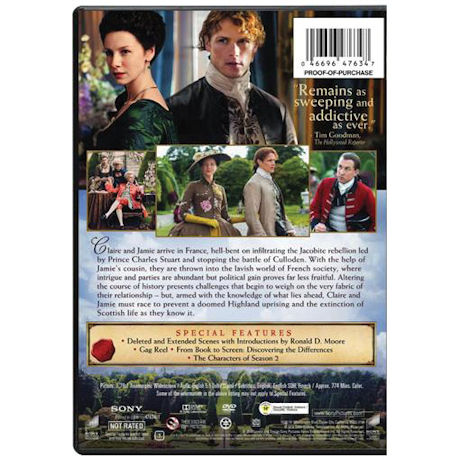 Outlander: Season Two DVD