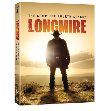 Longmire: The Complete Fourth Season DVD