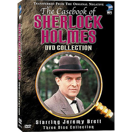 The Casebook of Sherlock Holmes DVD & Blu-ray