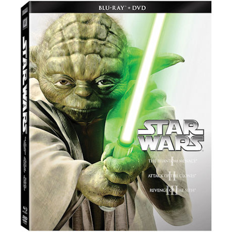 Star Wars The Prequel Trilogy Blu-ray/DVD Combo