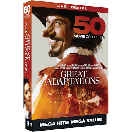 Great Adaptations: 50 Movie Collection