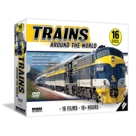 Trains Around the World DVD