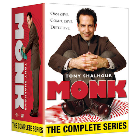 Monk: The Complete Series DVD