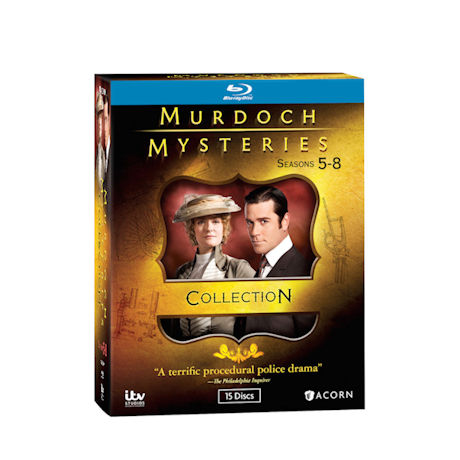 Murdoch Mysteries Collection: Seasons 5-8 DVD & Blu-ray