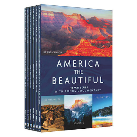 America the Beautiful S/6 DVD
