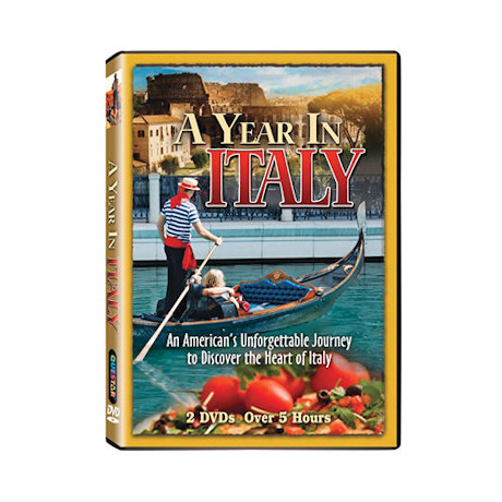 A Year in Italy DVD