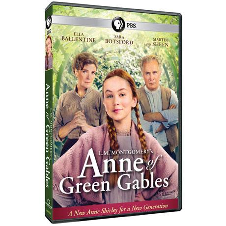L.M. Mongtomery's Anne of Green Gables DVD