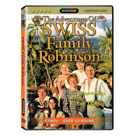 The Adventures of Swiss Family Robinson: The Complete Series DVD