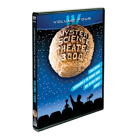Mystery Science Theater 3000: Volume Four DVD