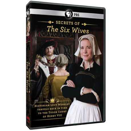 The Secrets of the Six Wives DVD
